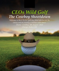 CEO's Golf Day 2018