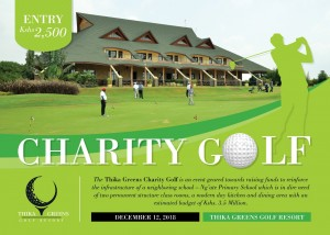 Charity Golf @ Thika Green Golf Resort