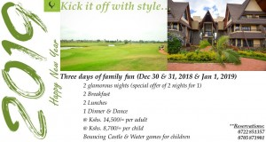 2019 - Kick It Off With Style @ Thika Greens Golf Resort