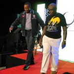 Catwalk Challenge between Hon. Jamleck Kamau and TGGR Captain - Patrick Karanja