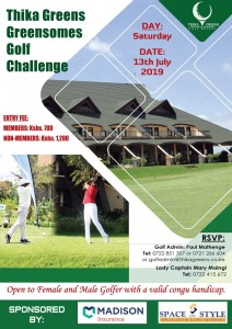 Thika Greens Greensomes Golf Challenge @ Thika Greens Golf Resort