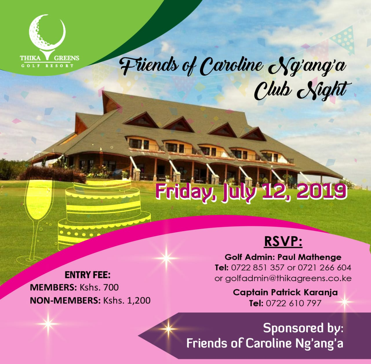 Friends of Caroline Ng'ang'a Club Night