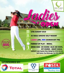 Ladies Open 2019 @ Thika Greens Golf Resort