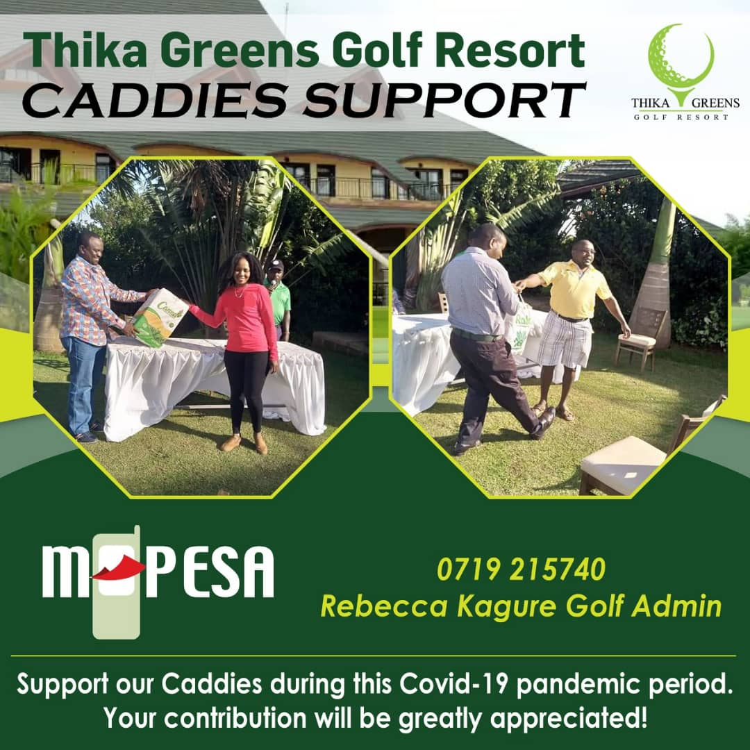 Support our caddies